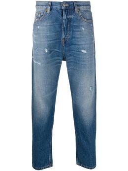 Diesel зауженные джинсы с эффектом потертости 00SSPZ0097B