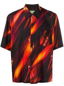 Aries рубашка с короткими рукавами и принтом SQAR4016