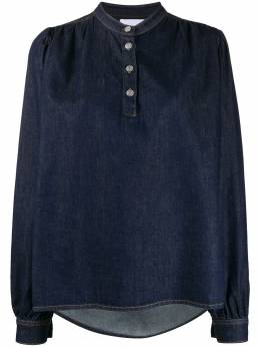 Ganni блузка из денима F4678