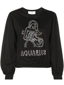 Alberta Ferretti толстовка Aquarius с кристаллами J12020172