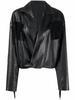 A.N.G.E.L.O. Vintage Cult куртка 1980-х с бахромой ANG320CU