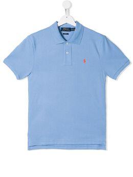 Ralph Lauren Kids рубашка-поло с вышитым логотипом 323708857