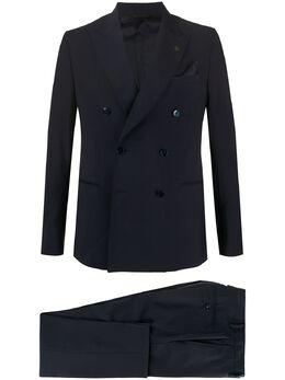 Manuel Ritz костюм с двубортным пиджаком 2830A3378203040