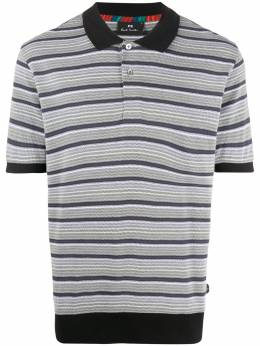 Ps by Paul Smith jacquard striped polo shirt M2R955TA20865