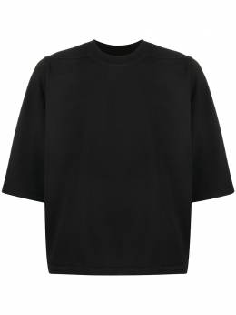 Rick Owens DRKSHDW футболка с круглым вырезом DU20S5273RIG