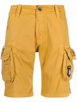 Alpha Industries брюки карго с карманами 186209