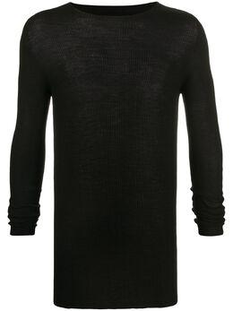 Rick Owens свитер с круглым вырезом RU20S7637RIBM