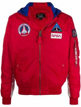 Alpha Industries куртка MA-1 TT NASA с капюшоном 126107