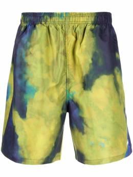 Stussy плавки-шорты Dark Dye Water 113118NNAVY