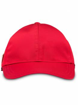 Prada бейсбольная кепка с металлическим логотипом 1HC2742B15