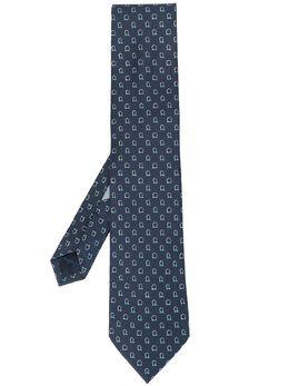 Salvatore Ferragamo Gancini-pattern tie 358802