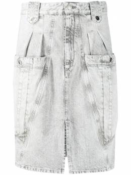 Isabel Marant джинсовая юбка миди Kalosia JU110020P016I