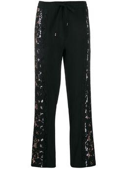 No. 21 спортивные брюки с кружевными вставками 20EN2P0B1015336