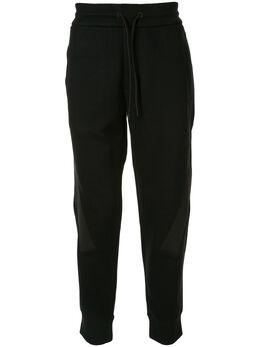 Emporio Armani спортивные брюки из джерси с кулиской 6G1PF61JFXZ