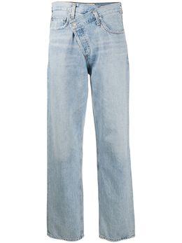 Agolde джинсы прямого кроя средней посадки A097983