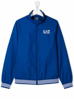 Emporio Armani Kids куртка с контрастными полосками 3HBB02BN27Z