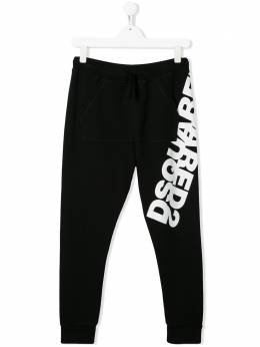 Dsquared2 Kids спортивные брюки с принтом DQ0431D00RG