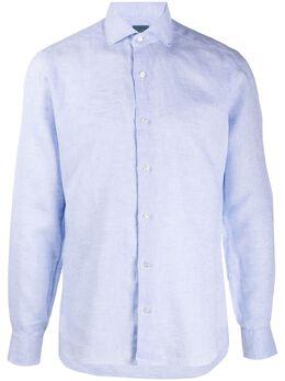 Barba поплиновая рубашка LIU1366206