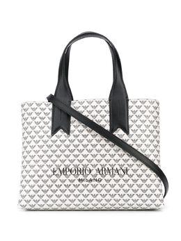Emporio Armani сумка-тоут с логотипом Y3D153YFG6E