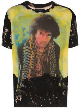 Amiri Jimi Hendrix bleached-effect T-shirt Y0M03353CJ