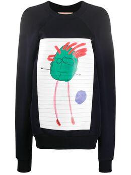 Plan C толстовка Kid's Doodle A02S33FT02