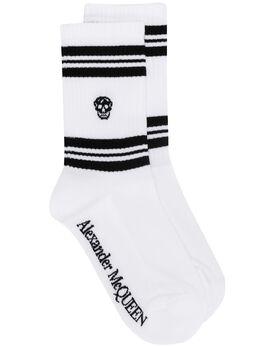 Alexander McQueen трикотажные носки 5846173B74Q