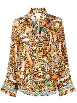 Camilla рубашка с принтом Fauna Electro 2128BLOA1001810