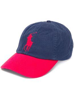 Polo Ralph Lauren кепка в стиле колор-блок с логотипом 710673584028