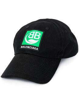 Balenciaga бейсболка с нашивкой-логотипом 593188410B2