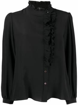 Ps by Paul Smith крепдешиновая рубашка с оборками W2R241BE30092