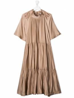 Unlabel расклешенное платье миди ANEMONEAS