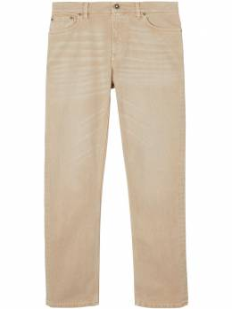 Burberry джинсы прямого кроя 8019901