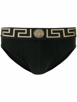 Versace трусы-брифы с логотипом Medusa AU10027A232741