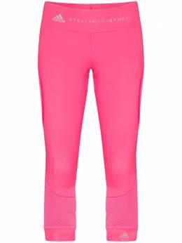 Adidas спортивные легинсы со вставками из коллаборации с Stella McCartney FS7579