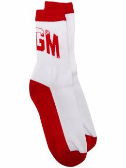 MSGM носки с логотипом 2841MDS06207248