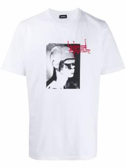 Diesel футболка T-Just-J21 свободного кроя 00SAS70PATI