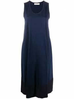 Gentry Portofino платье миди с контрастными вставками D549JE