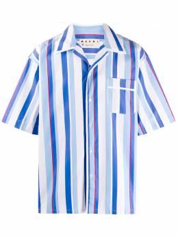 Marni полосатая рубашка CUMU0139A0S52538