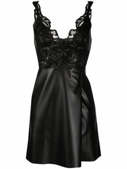 Ermanno Scervino платье мини из искусственной кожи D364Q310LTK