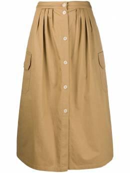 Semicouture юбка миди с карманами карго S0SQ05