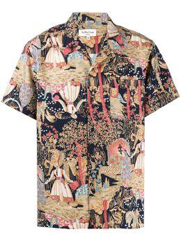 Ymc рубашка Malick с принтом P2NAH90