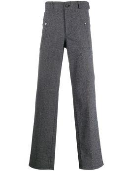 Comme Des Garcons Pre-Owned прямые брюки 1990-х годов CDG350C
