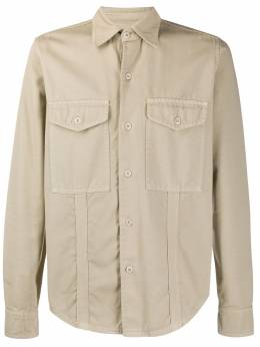 Ami Paris рубашка с накладными карманами E20HC310248