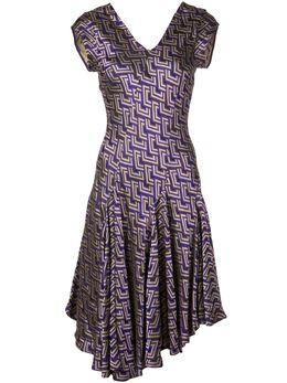 Josie Natori жаккардовое платье свободного кроя H13012