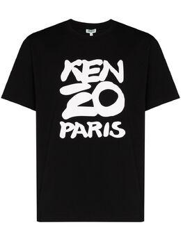 Kenzo Paris logo print T-shirt FA55TS0184SA