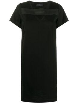 Diesel жаккардовое платье 00S81K0QAYJ