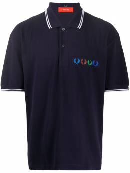 Fred Perry рубашка поло с контрастной отделкой SM8020