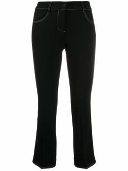 Alberto Biani укороченные брюки кроя слим CC817AC0028