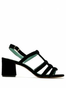 Blue Bird Shoes бархатные босоножки Daniela W2023206