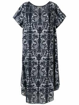 Martha Medeiros платье-футболка миди Bateau R19D0018